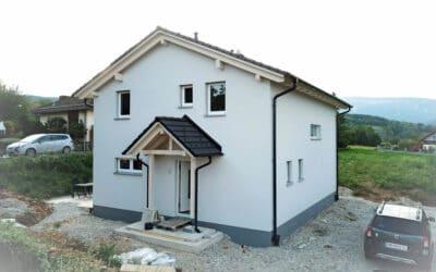 Referenzprojekt: Neubau Einfamilienhaus in 2732 Würflach